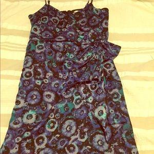Lauren Conrad floral midi dress